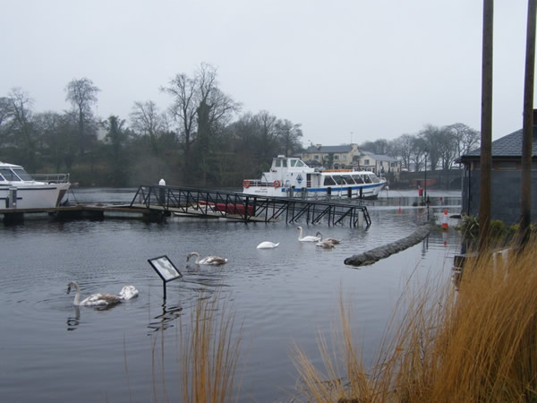 Carrick on Shannon Anleger Ausflugsboot today