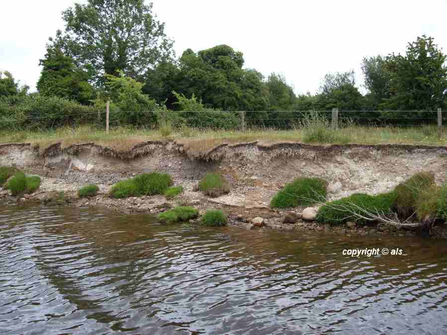 "Bank Erosion, Very dry riverbanks SEW; click picture to ""enlage"""