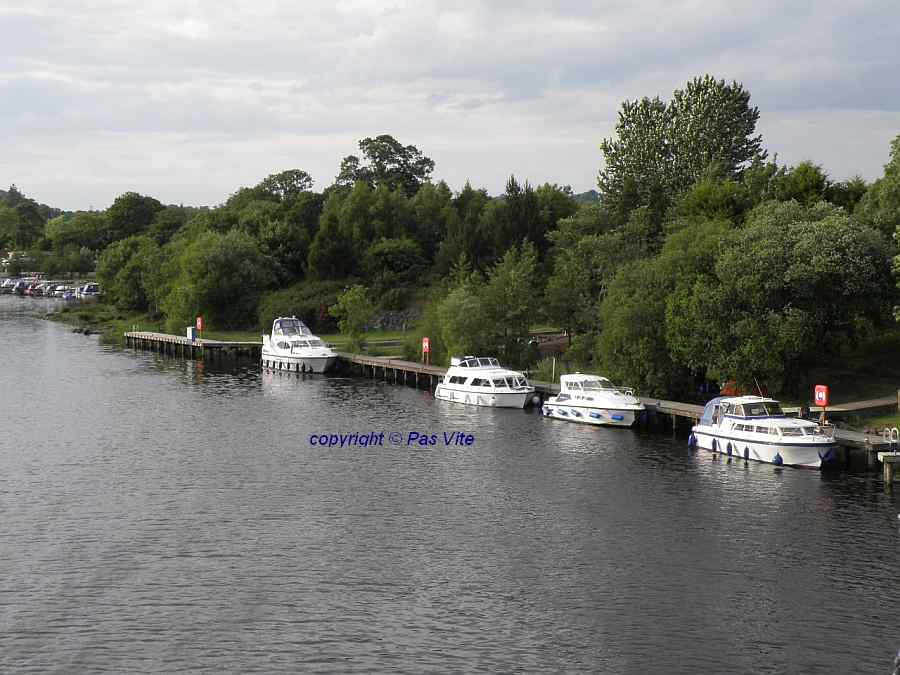 "Carrybridge; Upper Lough Erne ; ""click pictur to enlarge"""