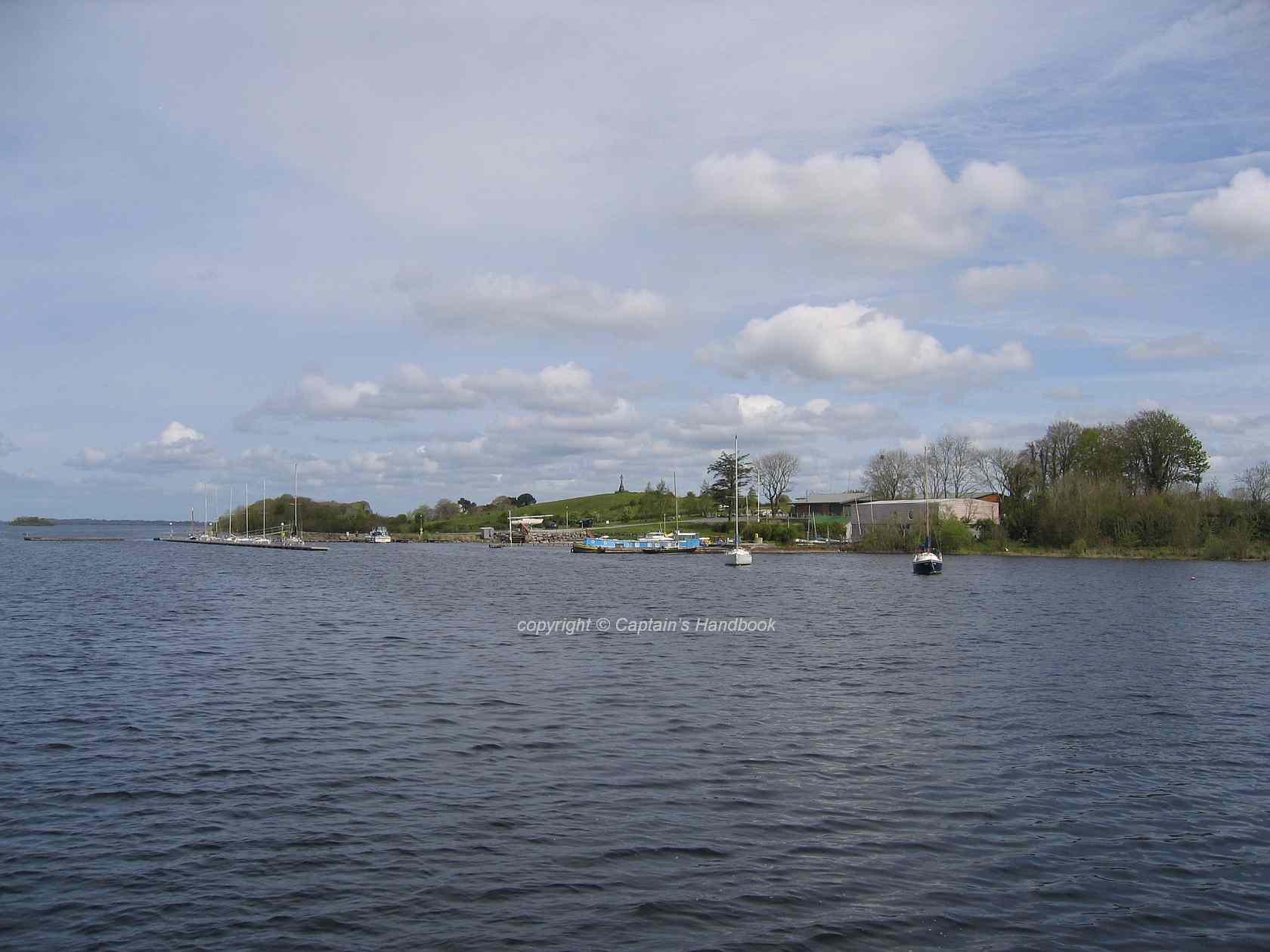 "Lough Ree Yacht Club © Captain's Handbook; click picture to ""enlarge"""