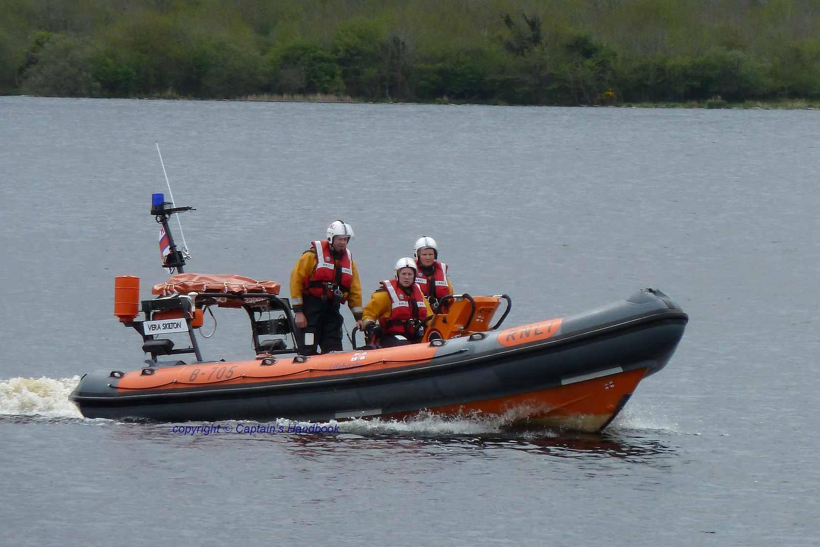 RNLI Lifeboat Derg Vera Skilton © Captain's Handbook