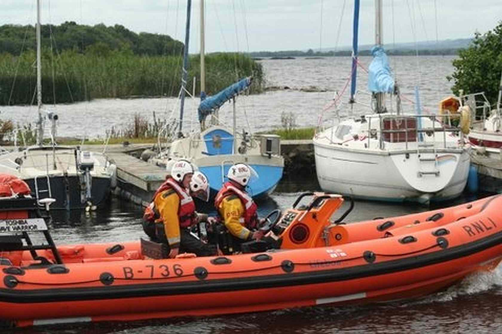 RNLI Lifeboat Derg Toshiba Wave Warrior © RNLI Lough Derg