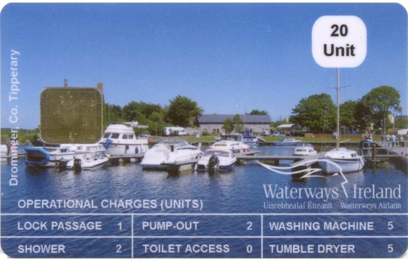 20 Unit Smart Card, © Waterways Ireland