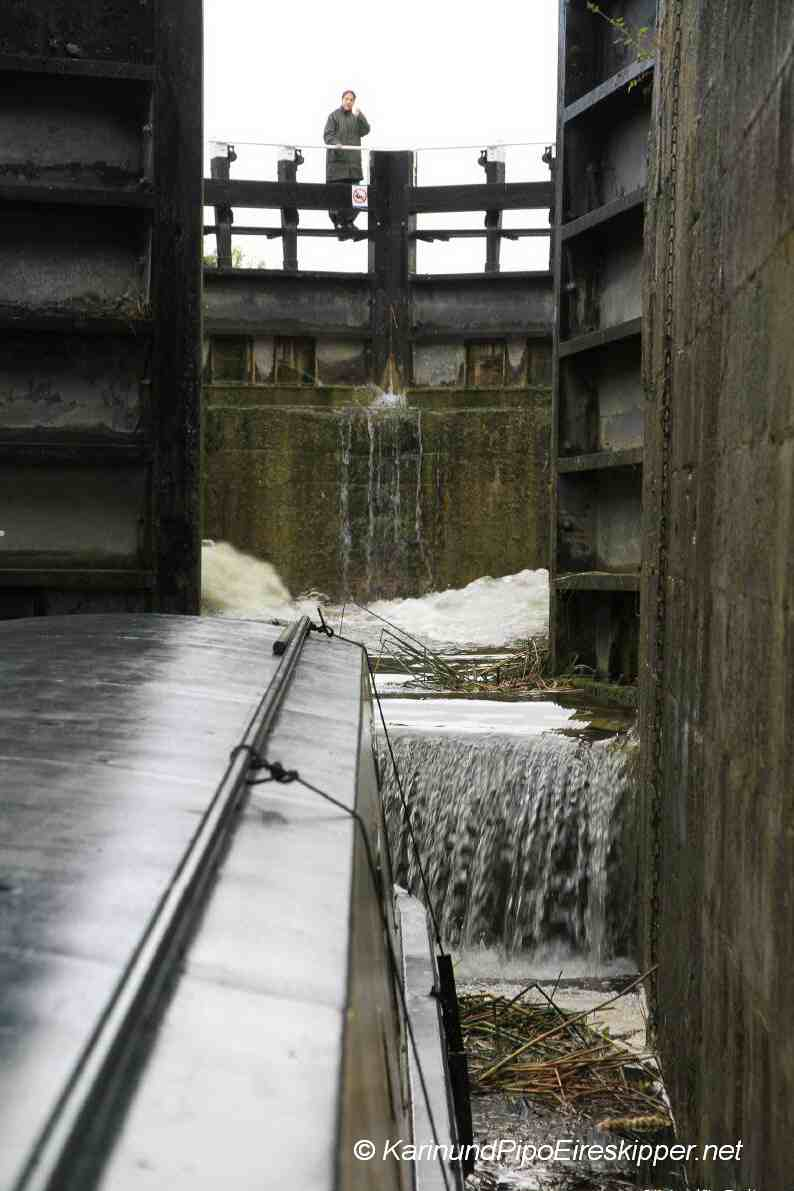 Double Lock No. 33 at Belmont
