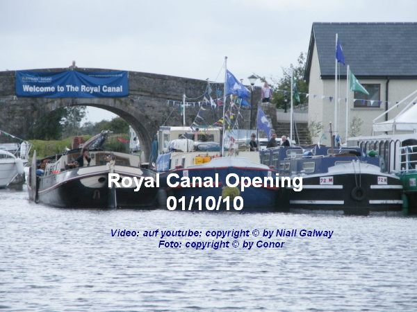 "Royal Canal Video; Picture © Conor click to ""Video"""