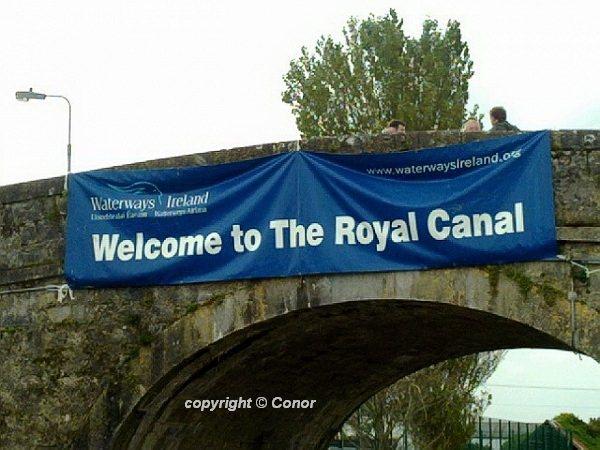 Royal Canal am Tag der Eröffnung; © Conor