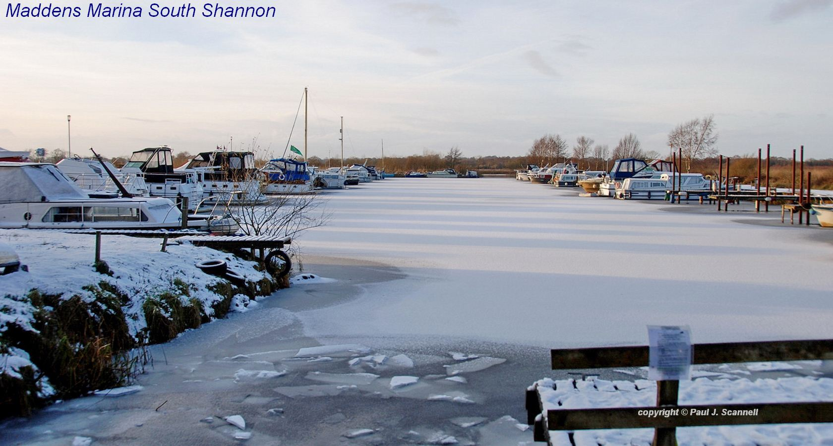 Maddens Marina Ice and Snow; © Paul Scannell