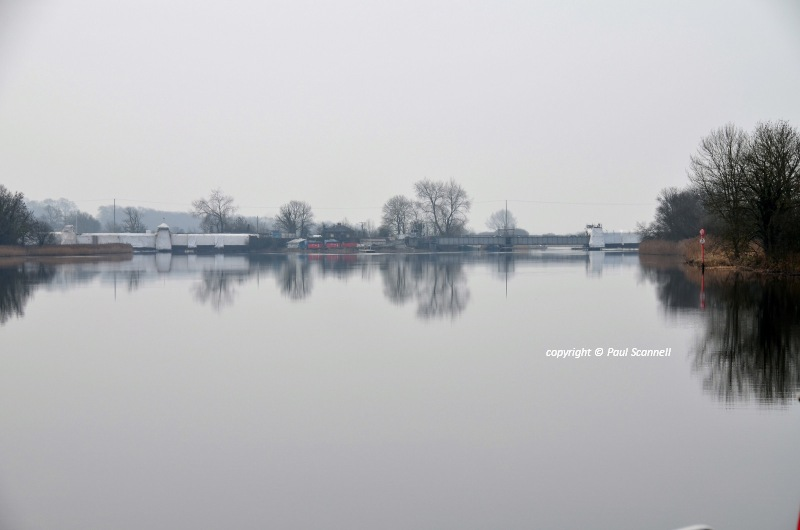 Portumna Bridge March 2011; © Paul Scannell