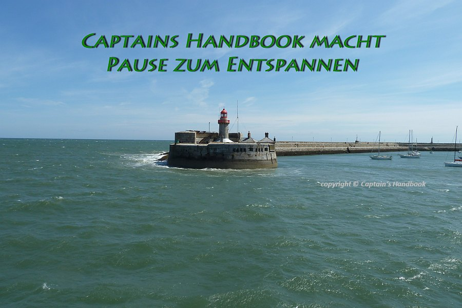 Captains Handbook on Tour; © Captain's Handbook