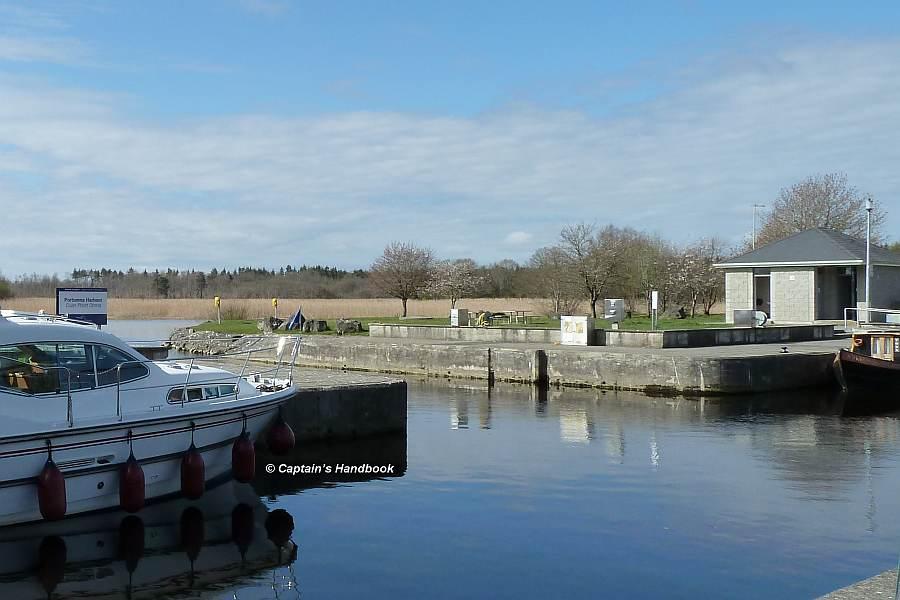 Portumna Harbour Einfahrt