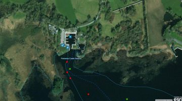Portumna Castle Harbour; © esri; click to Shannon Map esri