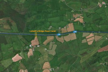 Ledwith's Bridge Royal Canal © esri; click picture to ArcGis Map