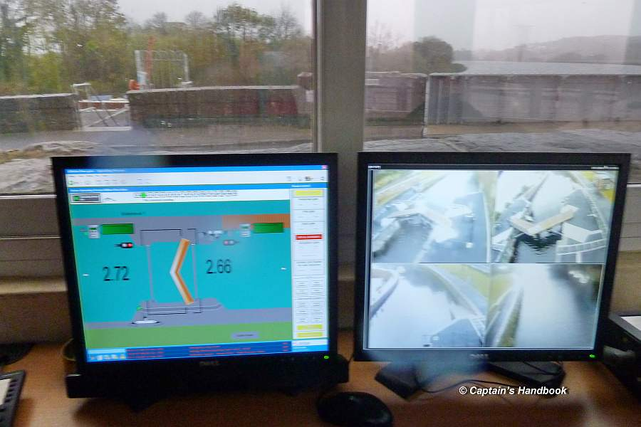 Killaloe Canal Gate Control Monitor Portumna Swingbridge