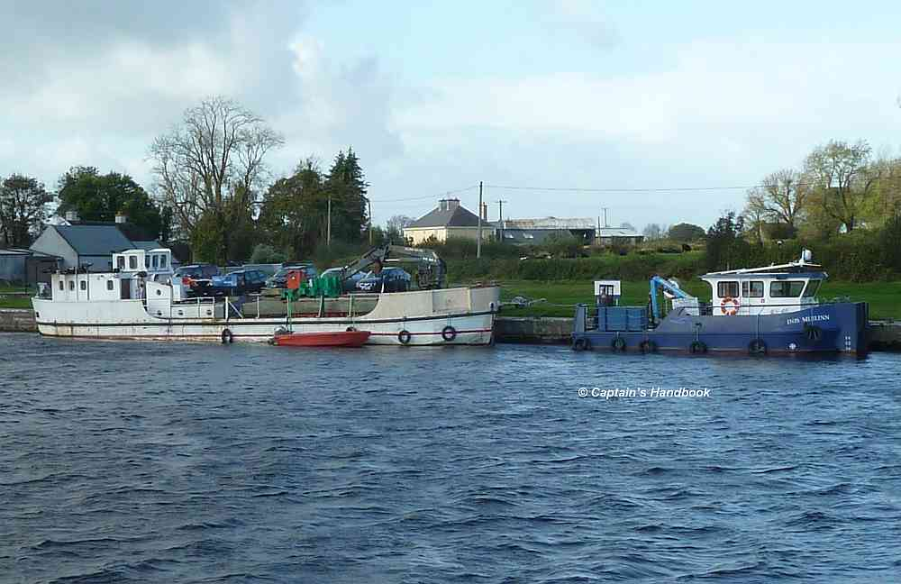 Arbeitsboote von WI mit den neuen Markern