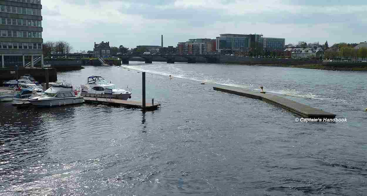 Limerick City, Custom House and Arthurs Quay Moorings
