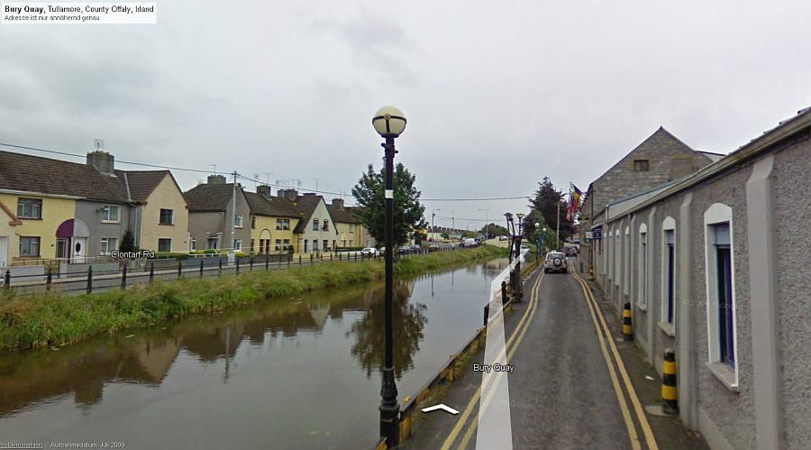 Tullamore; © GoogleMaps