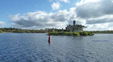 "Click picture to ""Mooring spaces on Lough Key"""