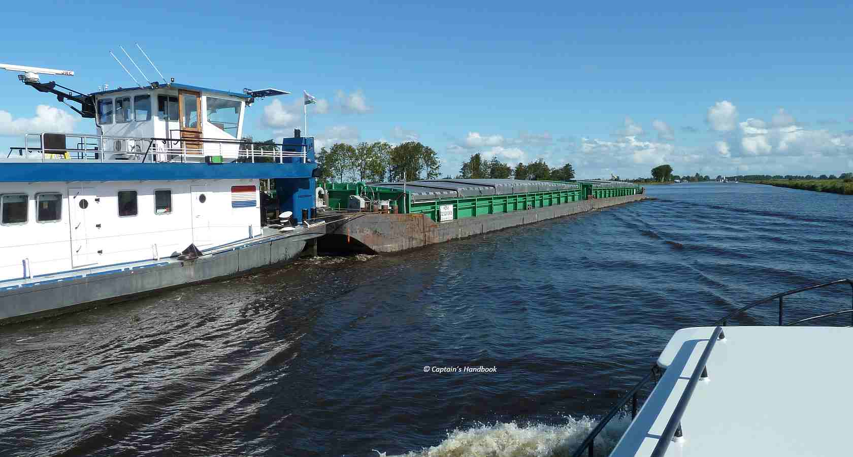 "commercial shipping on ""Prinses Margriet Kanaal"""