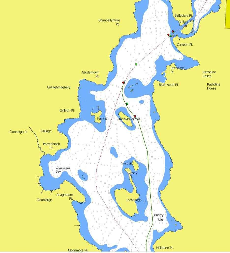 "Lough Ree © Captain's Handbook, click to ""Argis Map Lough Ree"""