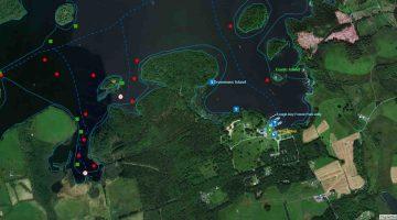 "Lough-Key;© esri; click to ""Lough-Key ArcGis Map"""
