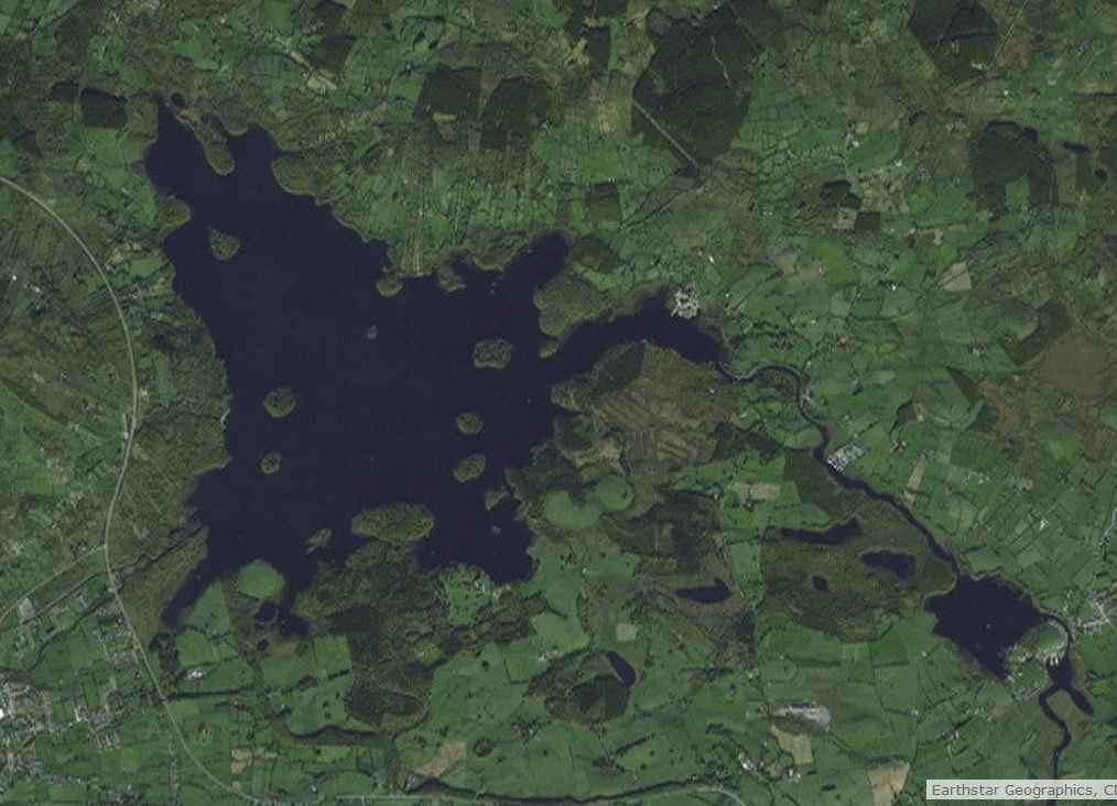 "Lough-Key-Navigation; © esri; click to Arcgis Map ""Lough-Key-Navigation"""