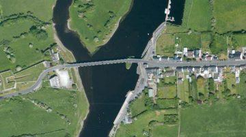 "Shannonbridge; © esri; click to Arcgis Map ""Shannonbridge; © esri"""
