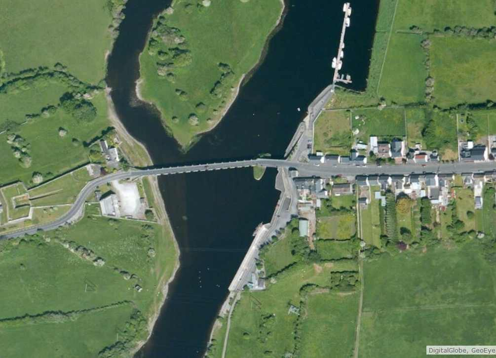 "Shannonbridge; © esri; click to Arcgis Map ""Shannonbridge"""