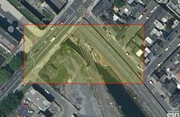 "Newcomen Bridge Royal Canal © esri maps; click to "" esri maps Newcomen Bridge Royal Canal"""