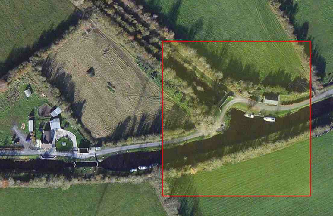 """Cambell's Bridge; Grand Canal;  © esri; click to Arcgis Map """"Cambell's Bridge; Grand Canal"""""""
