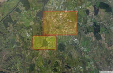"Lough Allen, © esri; click to Arcgis Map ""Lough Allen, Acres Lake and Drumshanbo"""