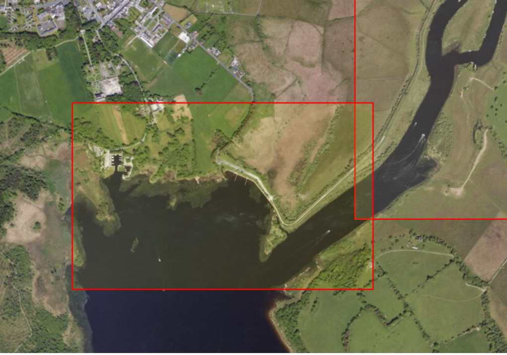 "Portumna, Castle Harbour; © esri; click to Arcgis Map "" Portumna, Castle Harbour"""