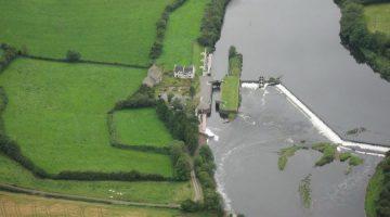 Carnroe Lock with Weir on The Lower Bann © kingdomcomms