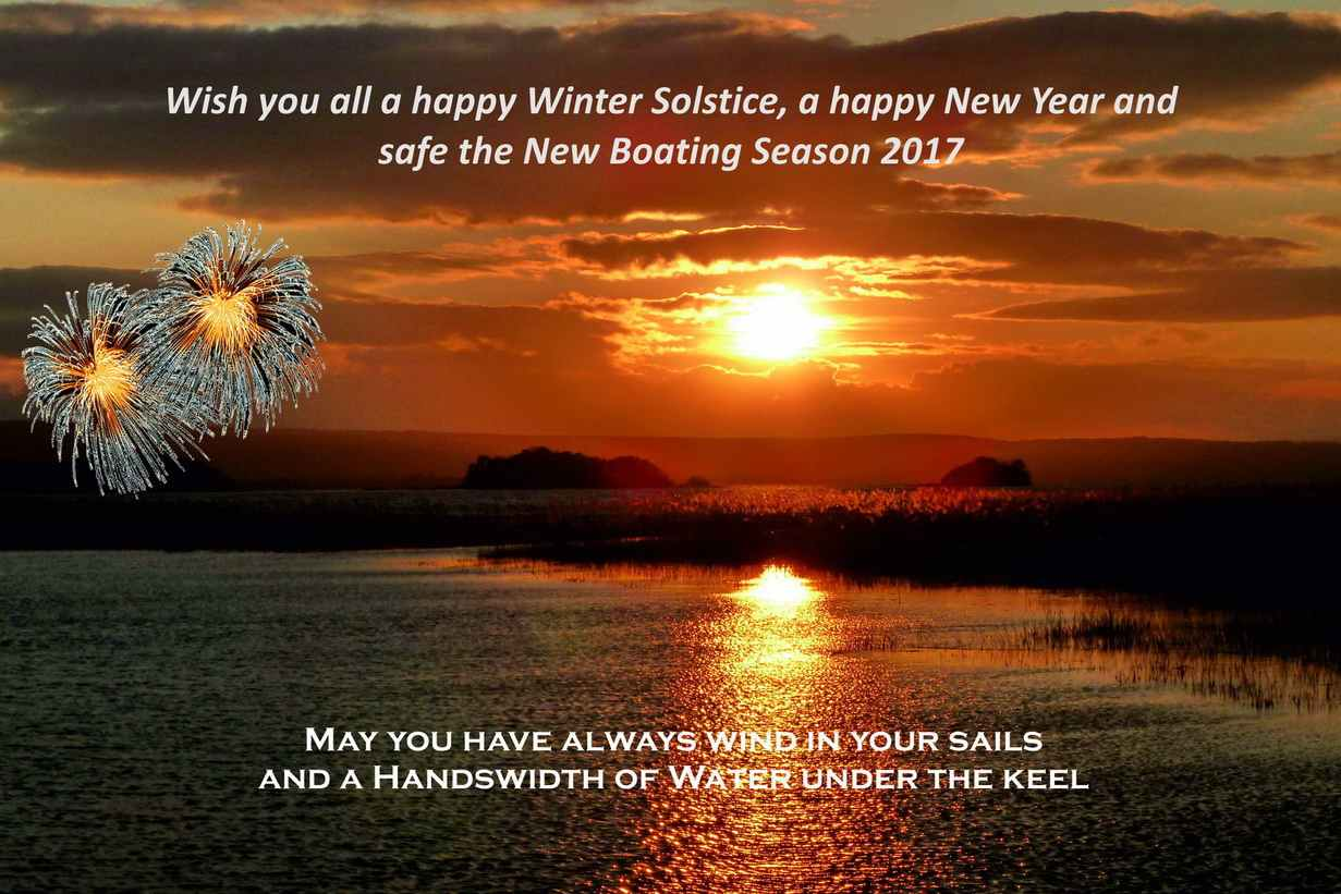 Season's Greetings; New-Year 2017  © Captain's Handbook