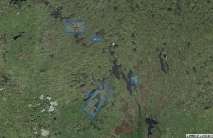 "Kilglass Mooring and Slipway © esri; click to ""Shannon Map"""