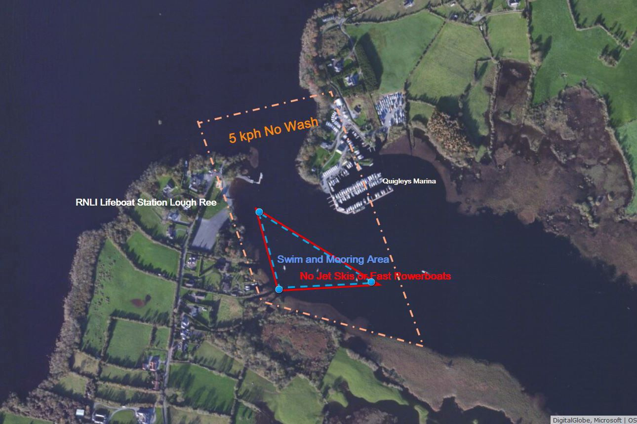 Coodan Point Lough Ree; © Captain's Handbook ; click picture to enlarge