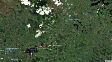 """Ballinamore Lock 6, © esri; click to Arcgis Map """"Ballinamore Lock 6"""""""