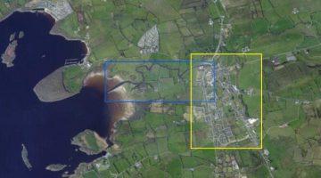 "Kesh River; © esri; click picture to esri map ""River Kesh Lower Lough Erne"""
