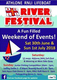 RNLI River Festival; © RNLI Athlone LifeBoat 2018