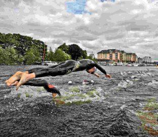 Waterways Ireland triAthlone © Waterways Ireland; click picture to triAthlone Website