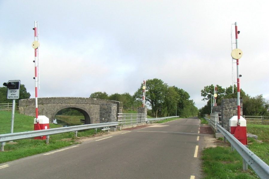 Begnagh Lift Bridge; © Copyright JP and lCC Licence