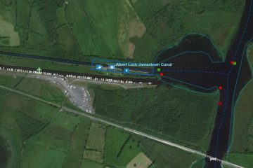 Jamestown Canal Shannon; © esri; click picture to Albert-Lock
