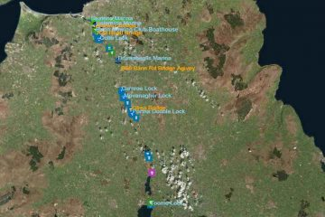 Lower Bann; © esri; click to Esri Map lower Bann