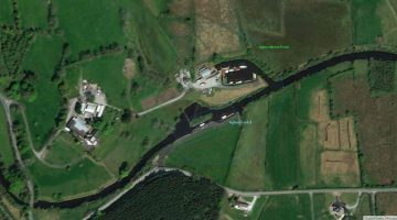"SEW Lock 4, Aghoo; © esri; click to Arcgis Map ""SEW Lock 4, Aghoo"""