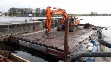 Athlone lock - Floating pontoon; © © Waterwaysireland ;click to enlarge