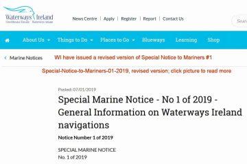 General Information on Waterways Ireland navigations; click picture to Waterways Ireland Webpage