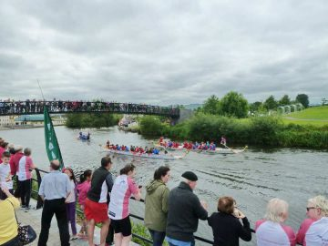 Barrow Dragon Boat Regatta; © Carlowturism