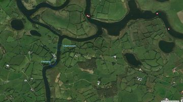 Upper Erne, Tullyinishmore, Cloonatrig Map; click to Upper Lough Erne