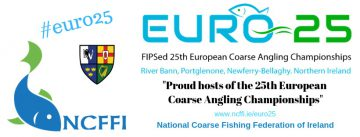 European Coarse Angling Competition 29th and 30th June; © esri; click to NCFFI Webside