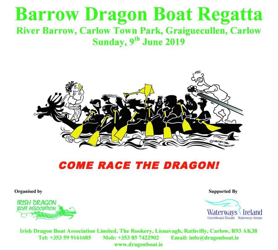 Barrow Dagon Boat Regatta © WI and Irish Dragon Boat Association's