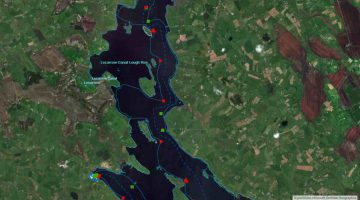 "Lecarrow; © esri; click to esrimap""Lecarrow Lough Ree"""